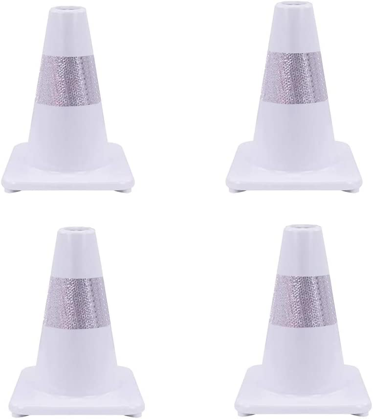 Size : 2pcs XJLG Safety Cones H-30cm automobile traffic warning cones road parking security guard highway traffic cone traffic cones
