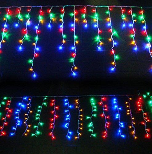 Pisca Pisca 200 Leds Cascata Natalina Enfeite Decoracao de Natal Colorido (JA-81105 CL)