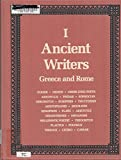 img - for Ancient Writers: Greece and Rome Vol. 1 Homer to Caesar book / textbook / text book