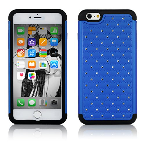 Case for iPhone 6 Plus, Easylife™ 2014 New Release Silicone Shell Case Cover for Apple iPhone 6 Plus (Dark-blue) Money Off Promotion for Valentine's Day