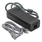 Ortz Xbox 360 AC Adapter - (FAT) 203W Power Supply - Best Replacement for Charging Xbox360 - Power Brick Style - Great Charger Accessory Kit with Cable Cord - 1 YEAR WARRANTY