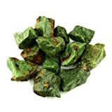 """Crystal Allies Materials: 1lb Bulk Rough Chrysoprase Stones from Madagascar - Large 1"""""""