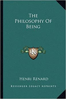 The Philosophy Of Being
