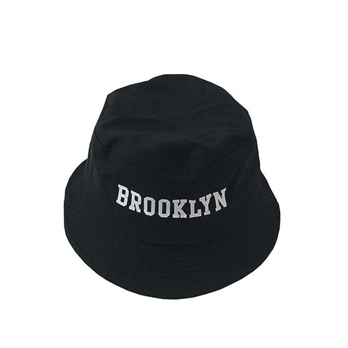ANDERDM 2019 New Brooklyn Embroidery Bucket Hat Fisherman