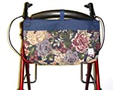 Handi Pockets 2C4WM Storage Accessory Walker, Tapestry Westmont