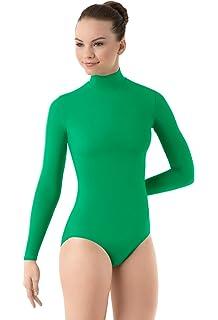 023285129 Amazon.com  Capezio Turtleneck Long Sleeve Leotard  Clothing