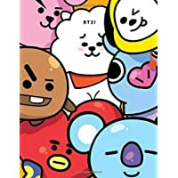 KPOP CUTE BT21 CHARACTER DAILY PLANNER FOR BTS