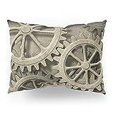Society6 Steampunk Cogwheels Pillow Sham Standard (20'' x 26'') Set of 2