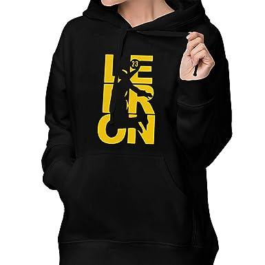 Rosali Russ Women s Lebron-Fan-Wear   23 Pullover Long Sleeve Hoodies  Casual Sweatshirts b7af72a57