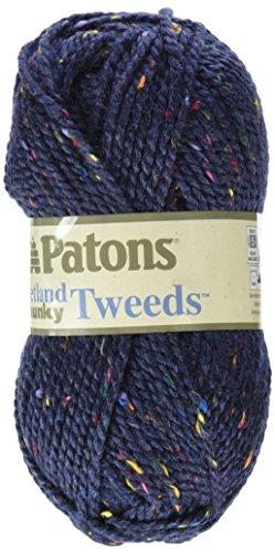 Patons Shetland Chunky Yarn, Medium Blue - Chunky Tweed Yarn Shopping Results