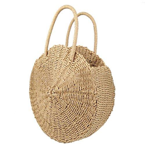 unique sac plage à à bandoulière sac style usage paille à sac bandoulière double bandoulière à à sac de la la Messenger main mode en Sac tissé de sac à bohème ZdSHwwqx