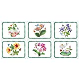Portmeirion Exotic Botanic Garden Placemats 30.5cm By 23cm (Set Of 6)