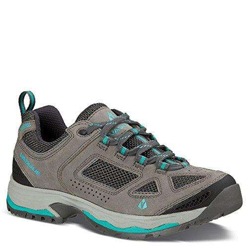 Vasque Women's Breeze III Low GTX Hiking Shoes Gargoyle/Columbia (9.5) by Vasque