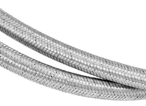 5//16 x 4 Stainless Steel Flex Fuel Line 29304 Spectre Performance