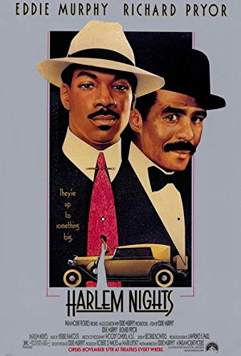 Harlem Nights Movie Poster, Eddie Murphy, Richard Pryor, A, Made In The U.S.A