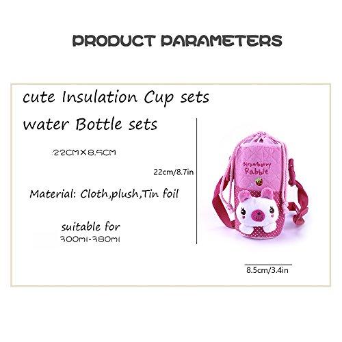 Portable Baby Infant Feeding Milk Food Bottle Thermal Warmer Bag Carrier Storage Holder (rabbit) by COFFLED