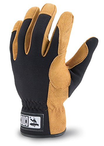 CMC Rescue 250254 Rappel Gloves Black Large by CMC