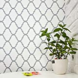 Trellis Removable Wallpaper Trellis Wall Paper Trellis Peel and Stick Wallpaper Self Adhesive Wall Covering Modern Wallpaper Decor Shelf Liner Drawer Liner Wall Decor Vinyl Film Roll 17.7'x78.7'