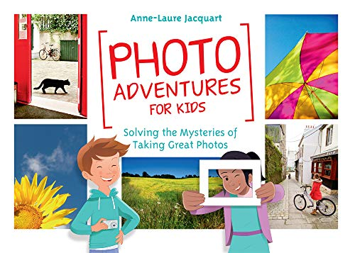 Look up! Look down! Move around! Everywhere you go, there are great pictures just waiting to be made! Kids love to take pictures! WithPhoto Adventures for Kids, you can encourage your child's passion while exploring the art of photography together! ...