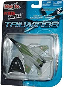Amazon.com: Maisto Fresh Metal Tailwinds 1:87 Scale Die Cast Soviet Union Military Aircraft