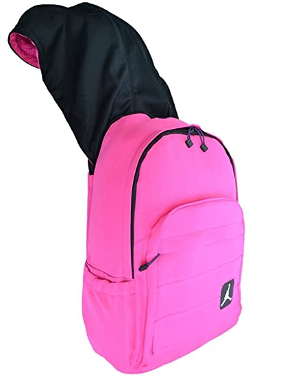 47e2726f19 Amazon.com  Nike Air Jordan Laptop Backpack with Pink Hoodie for ...