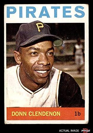 Amazoncom 1964 Topps 163 Donn Clendenon Pittsburgh Pirates
