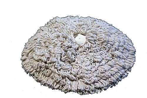 15'' PROCYON Cotton Bonnet Pads - 6 Per Case by Procyon