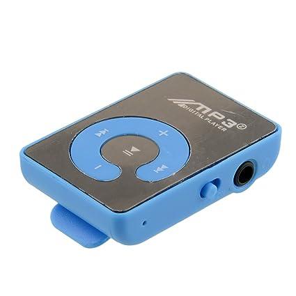 Cewaal Mp3 Player Espejo USB Clip de superficie Música Mp3 ...