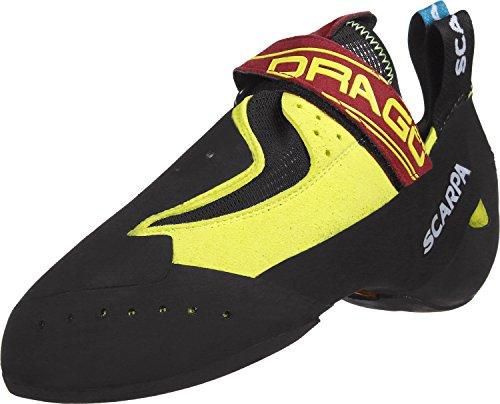 Scarpa Drago Zapatos de escalada amarillo
