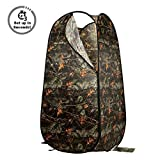 PARTYSAVING Portable Privacy Outdoor Pop-up Room Tent Camping Shower Toilet Beach Park APL1303, Burly Camo