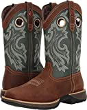 Durango  Men's Rebel 12'' Western Square Toe Saddlehorn/Clover 10 D US