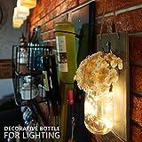 Mason Jar Sconces Wall Decor,Rustic Home Decor with