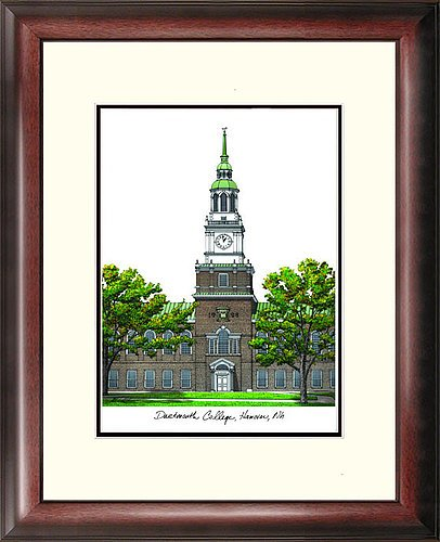 Dartmouth College Alumni Exquisitely Framed Imprinted Home Office - Dartmouth Gift Shop