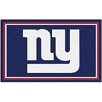 Fanmats NFL New York Giants Nylon Face 4X6 Plush Rug
