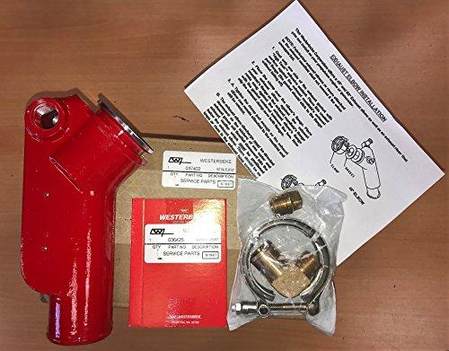 WESTERBEKE Joint Elbow 37402 & Gasket 36425 Kit