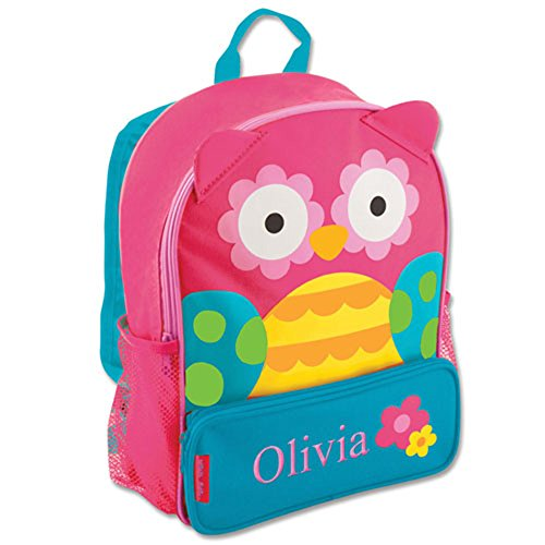GiftsForYouNow Owl Personalized Kids Backpack -