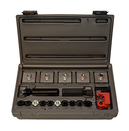Cal-Van Tools 165 Master Inline Flaring Kit - Double and Single Flares, Brake Flaring Tools. Professional Tool -