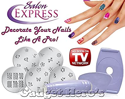 Gadget Heros Salon Express Nail Polish Art Amazon Electronics