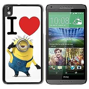 Fashion Designed Despicable Me 8 Black HTC Desire 816 Phone Case