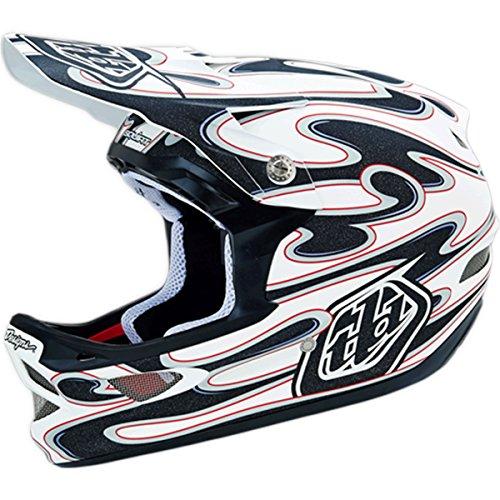 Troy Lee Designs Squirt D3 Bike Race BMX Helmet - Matte White / X-Large