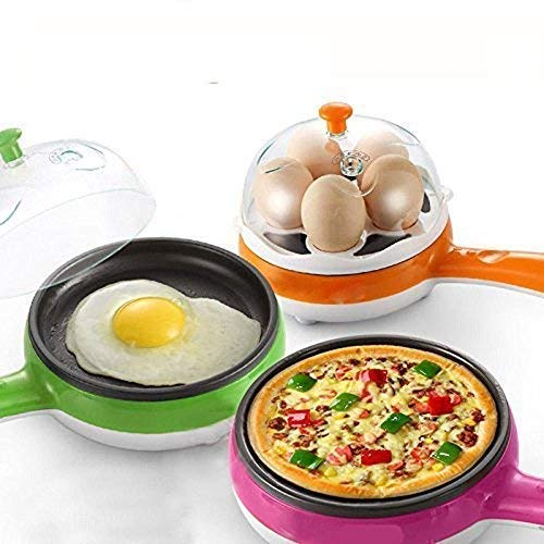 Best Electric Non Stick Fry Pan with Egg Boiler