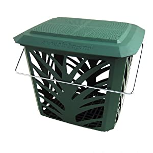 green kitchen compost caddy maxair vented for food. Black Bedroom Furniture Sets. Home Design Ideas