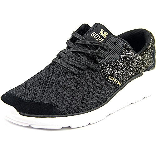 Supra Womens / Mens Noiz Sneaker Black Gold-white