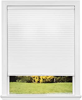 product image for Redi Shade Artisan Select No Tools Custom Cordless Cellular Light Filtering Shades, Snow, 19 in x 72 in