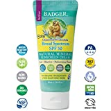 Badger - Baby Sunscreen Cream SPF 30-2.9 oz