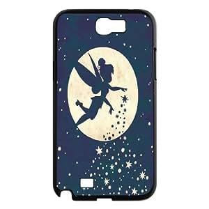 Disney Tinker Bell Clear Hard Case Cover For Samsung Galaxy Note 2 Case OKGL-U320214