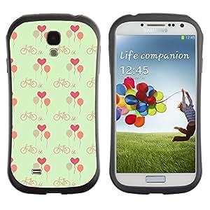 ArtSpace Premium Hybrid Back Case Cover Samsung Galaxy S4 IV i9500 ( Pink Hearts )