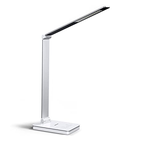 Lamps & Shades Simple Fashion Bright Aluminum Alloy Touch Dimming Table Lamp Eye Protection Reading Led Lamp Study Bedside Lamp Free Shipping Up-To-Date Styling