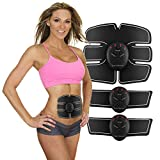 SportMonster ABS Stimulator - Abdominal Muscle Toner - Muscle Trainer - Abdominal Toning Belt - Ultimate Abs Stimulator - Abdominal Trainer for Men, Women