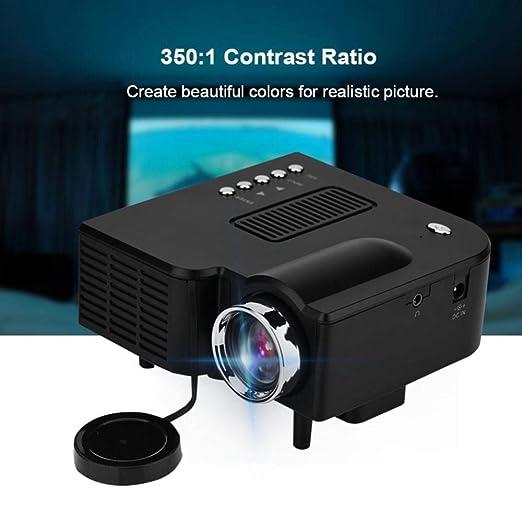 KAIDILA Proyector, UC28 20-80 en Pantalla Completa HD proyector 16 ...